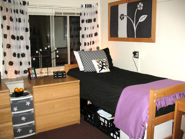 Dorm room and dorm rooms decorating ideas for Design your dorm room layout